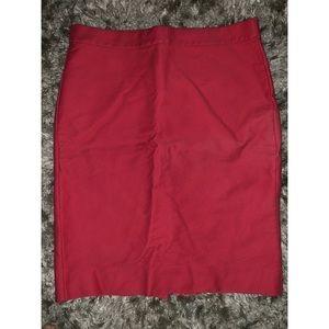 J. Crew Salmon No. 2 Pencil Skirt